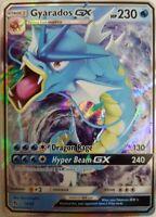 Gyarados GX 16/68 Holo Rare-  Hidden Fates Pokemon -  Englisch NM