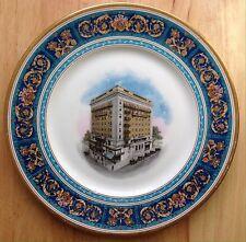 circa 1920s HOTEL SOUTHLAND RESTAURANT WARE SCAMMELL SERVICE PLATE, NORFOLK, VA