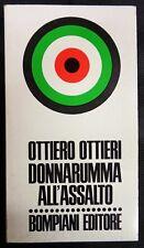 """Romanzo """"DONNARUMMA ALL'ASSALTO"""" di OTTIERO OTTIERI - BOMPIANI EDITORE - 1978"""