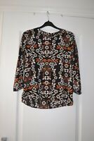 Womens Floral Blouse Size 6 Brand New