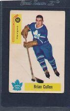 1958/59 Parkhurst #050 Brian Cullen Maple Leafs Fair 58PH50-121915-1