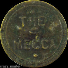The Mecca GOOD FOR 5 Cents Cigar Trade Token MD312