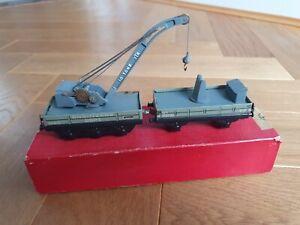 TTR 615 CRANE TRUCK SET Trix Twin Railways 00 Boxed  Engineers Dept 83610 49736