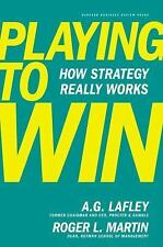 Playing to Win: How Strategy Really Works by A G Lafley (English) Free Shipping!