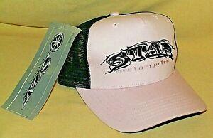 STAR MOTORCYCLE HAT PINK BLACK ADJUSTABLE BIKE BASEBALL BALL CAP DECAL NEW TAG.