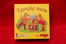 Jeu de société pour enfants Temple Inca - Haba - dés en bois - 100% complet