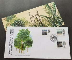 Malaysia Tropical Forest 1992 Tree Plant Nature Environment (FDC) *see scan