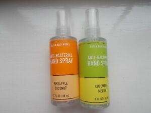 Bath And Body Works Pocketbacs Sprays Pineapple Coconut & Cucumber Melon