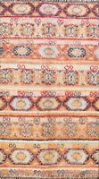Thick-Plush Geometric Modern Moroccan Oriental Area Rug Hand-knotted WOOL 7'x10'