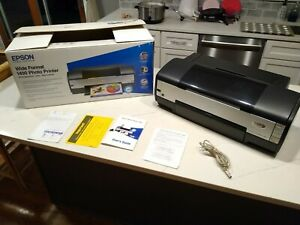 Epson Stylus Photo 1400 Wide format Digital Photo Inkjet Printer.  laser