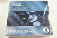 Jazz Legends 3 CD UK Box Set (2002, Triple Choice) Import NEW