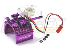 INTEGY RC Car C22470PURPLE Super Motor Heatsink+Cooling Fan 540/550