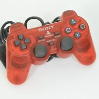 PS2 JUNK DUAL SHOCK 2 Analog Controller SCPH-10010 Crimson Red Playstation 2909