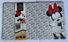 Disney MINNIE MOUSE Anti-Fatigue Cushioned Padded Kitchen Mat 18x30 Black Red