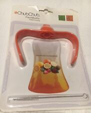 PouchBuddy (orange) - Baby Self Feeding Works with Most Baby Food Pouches I