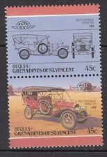 H134) Timbres Neufs MNH (Chadwick Great Six BEQUIA-GRENADINES / CARS-AUTOMOBILES