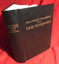 1984 New World Translation of the Holy Scriptures Jehovah's Witness Bible