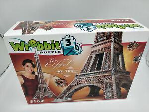 Puzzle 3D La tour Eiffel de102cm de haut 816 pieces mousse +livret,idée cadeau
