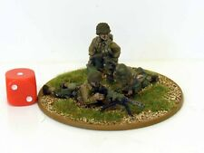 28mm Bolt Action Chain Of Command US 30 Cal MMG Team - Painted & Based #2