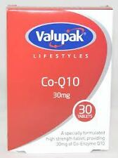 Valupak Lifestyles Co-Q10 30mg 30 Tablets