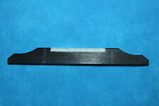 Grover Tune-Kraft Polished Ebony Flat Top Mandolin Bridge w/Bone Insert,MPN 1991