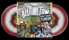 ALL TIME LOW Don't Panic 2xLP on MAROON/WHITE VINYL New STILL SEALED It's Longer