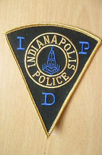 Patches: IDP INDIANA POLIS POLICE PATCH (NEW* apx.11.5x10 cm)