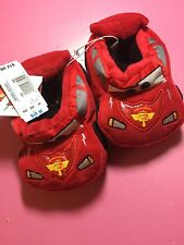 SLIPPERS Disney Cars Pixar size 9/10 red slippers new with tags sleepwear Boy