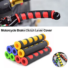 2pcs Motorcycle Brake Clutch Lever Cover Rubber Sleeve Covers Dirt Pit Bike ATVS