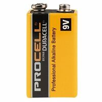 Duracell PC1604 Procell Alkaline Batteries, 9V, 12 Pack
