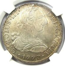 1779-MO FF Mexico Charles III 8 Reales Coin 8R. NGC Uncirculated Detail (UNC MS)