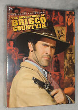 Adventures of Brisco County, Jr (Bruce Campbell) Complete DVD Box Set NEW SEALED