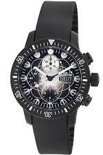 Fortis Men's 638.28.17 K B-42 Black Chronograph Day Date Valjoux 7750 Watch