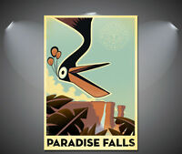 A1 A2 A3 Fly up to Venezuela poster Vintage Art Deco Poster A4 sizes