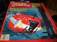 Popular Science 12/1981 Robot Subs