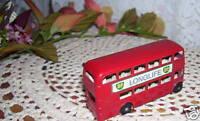 Matchbox Double Decker Bus Route Master Lesley England