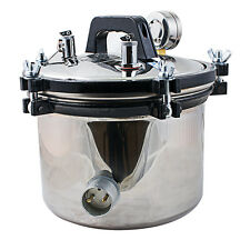 Dental Steam Autoclave Sterilizer sterilization 8L lab Equipment USA STOCK
