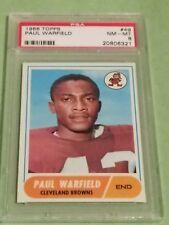 1968 Topps Paul Warfield HOF PSA 8 #49