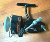 Vintage Mitchell 300A Spinning Fishing Reel Made In France Works