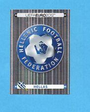 PANINI-EURO 2012-Figurina n.79- SCUDETTO/BADGE - GRECIA -NEW