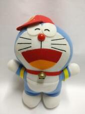"""Mochila Doraemon con Red Hat Cap 9"""" Juguete Suave Felpa F/S (PTY009)"""