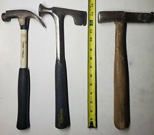 Lot Of 3 Roofing Type Hammers. Howitzer, Estwing