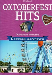 Steirische Harmonika Noten : Oktoberfest Hits - Stimmung Party - GRIFFSCHRIFT