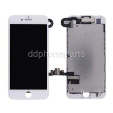 """White LCD Screen Touch Digitizer + Front Camera Bezel Frame For iPhone 7 4.7"""""""
