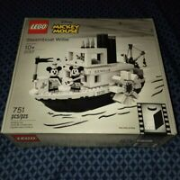 NEW LEGO IDEAS- 21317 DISNEY STEAMBOAT WILLIE BUILDING TOY.