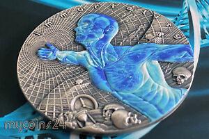 NIUE 2018 - $2 IMMORTALITY CODE OF THE FUTURE 2 oz