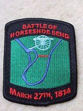 HORSESHOE BEND BATTLEFIELD National Park Junior Ranger Patch Badge Creek Indians