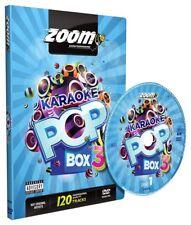 Zoom Karaoke Pop Box 3 - 4 (Region Free) DVD Set - 120 Karaoke Hits!