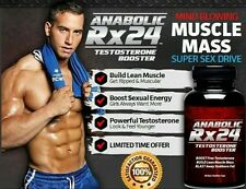 Rx 24 Anabolic* Testosterone Booster* NATURAL*Raise Testosterone Levels