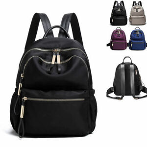 Water Resistant Nylon Backpack Rucksack Daypack Travel Bag Cute Purse 2 sizes